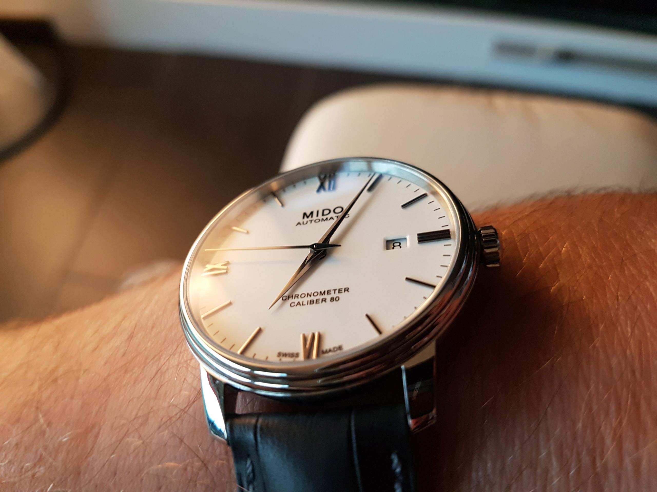 Mido Baroncelli Chronometer Silicium 20180832