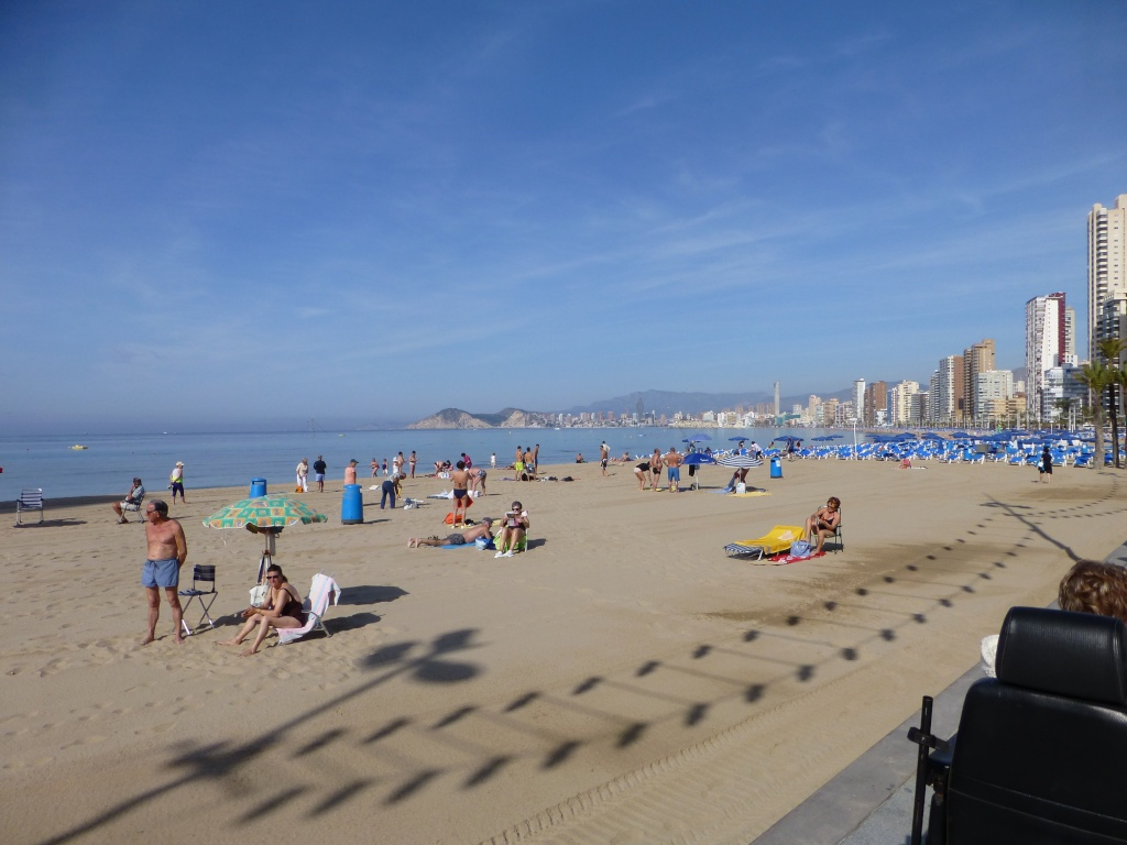 Spain, Costa Blanca, Benidorm, Levente Walk in the Sun 2013 38310