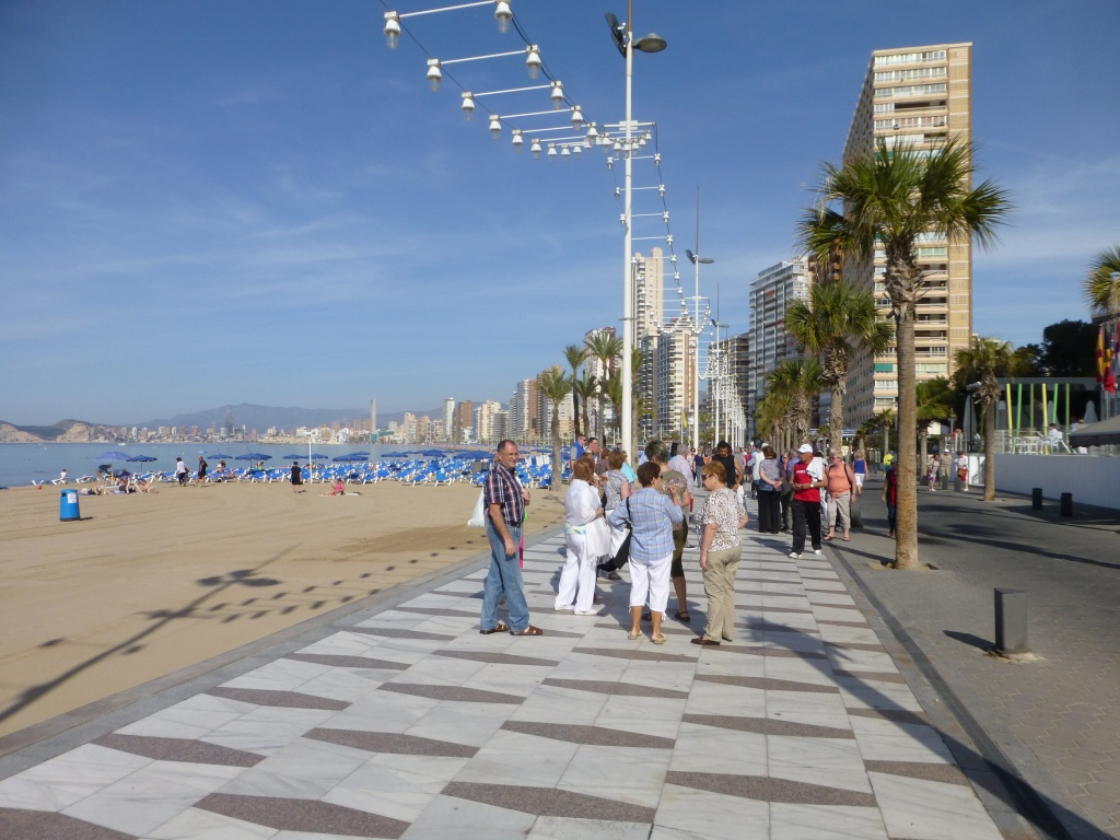 Spain, Costa Blanca, Benidorm, Levente Walk in the Sun 2013 38411