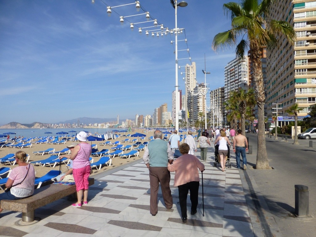 Spain, Costa Blanca, Benidorm, Levente Walk in the Sun 2013 38910