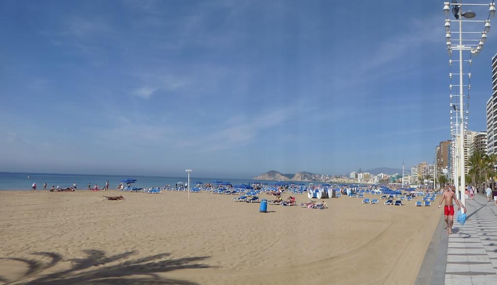 Spain, Costa Blanca, Benidorm, Levente Walk in the Sun 2013 40410