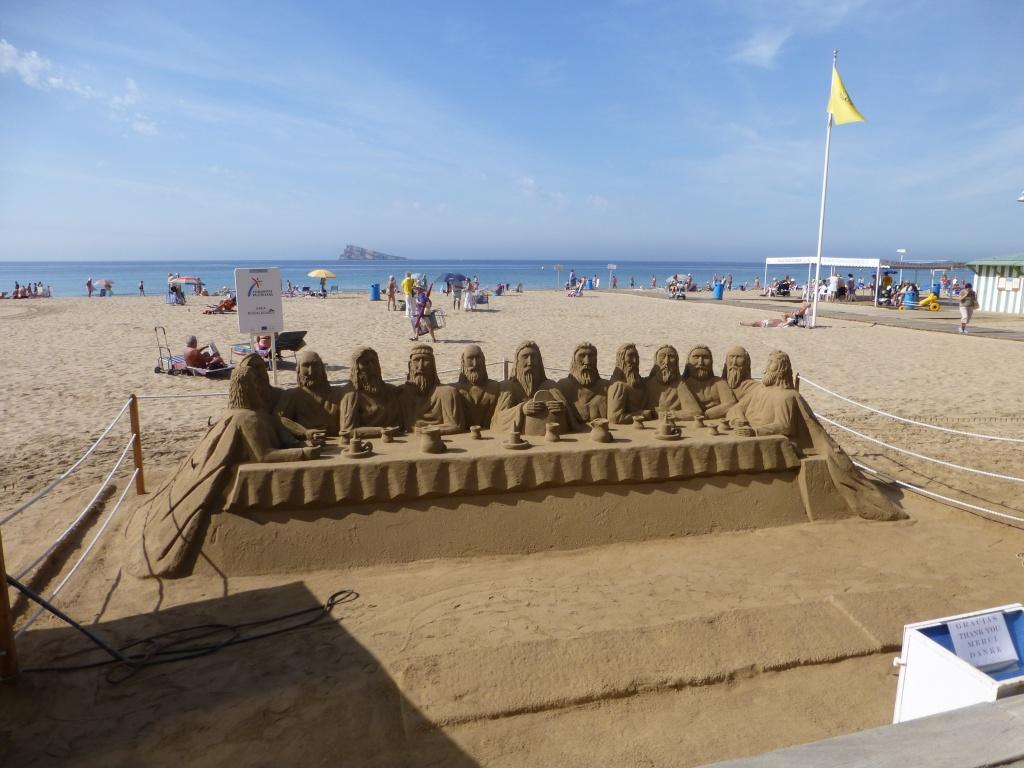 Spain, Costa Blanca, Benidorm, Levente Walk in the Sun 2013 40810