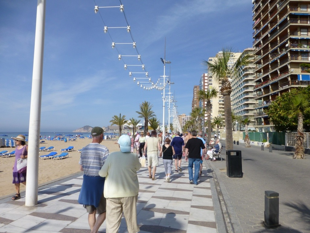 Spain, Costa Blanca, Benidorm, Levente Walk in the Sun 2013 40910