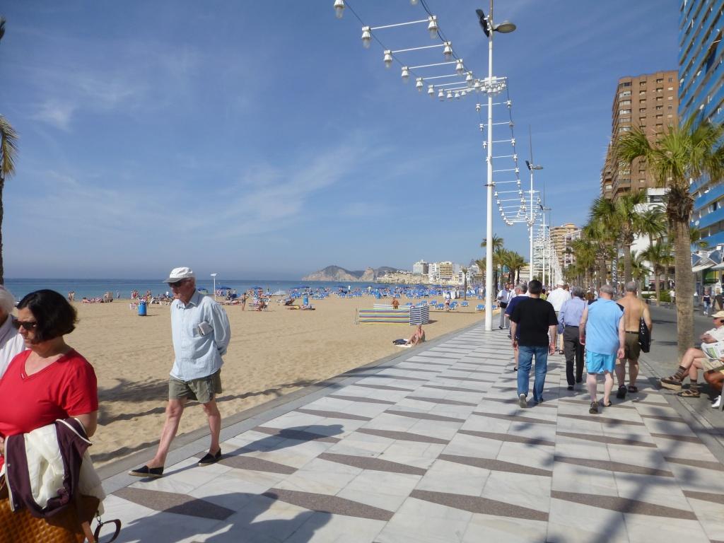 Spain, Costa Blanca, Benidorm, Levente Walk in the Sun 2013 41110