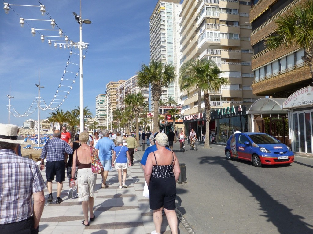 Spain, Costa Blanca, Benidorm, Levente Walk in the Sun 2013 41410
