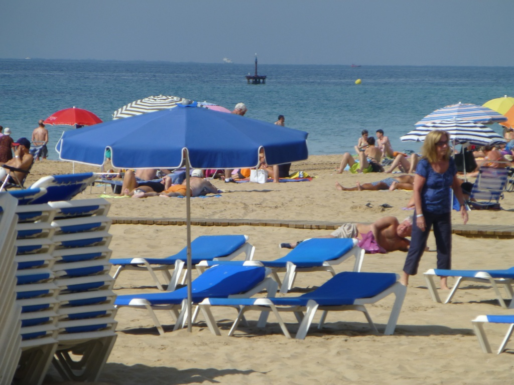 Spain, Costa Blanca, Benidorm, Levente Walk in the Sun 2013 41810