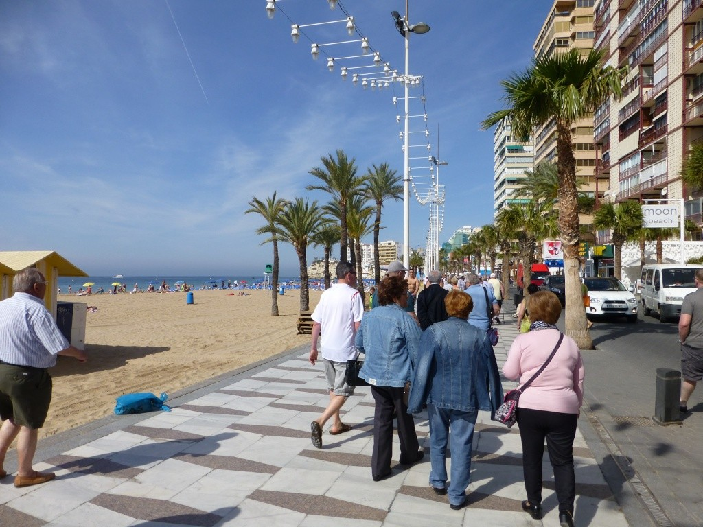 Spain, Costa Blanca, Benidorm, Levente Walk in the Sun 2013 42210