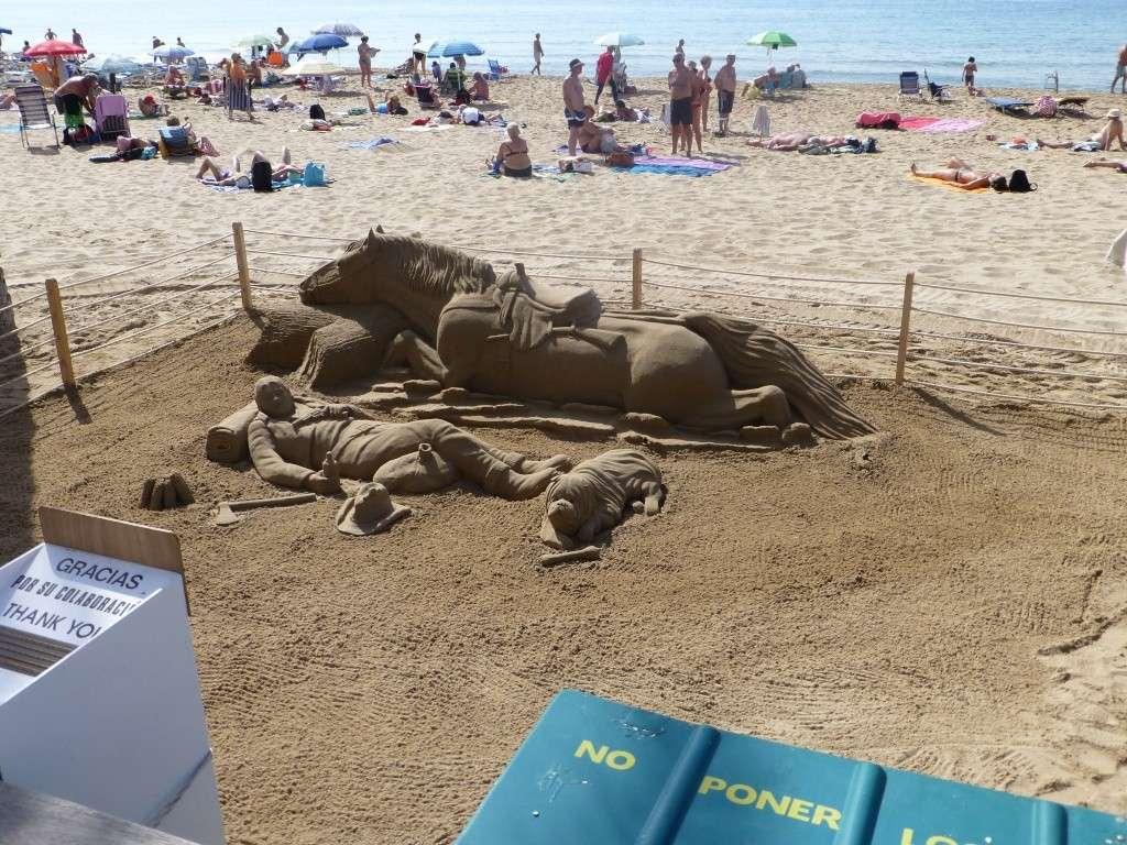 Spain, Costa Blanca, Benidorm, Levente Walk in the Sun 2013 43510