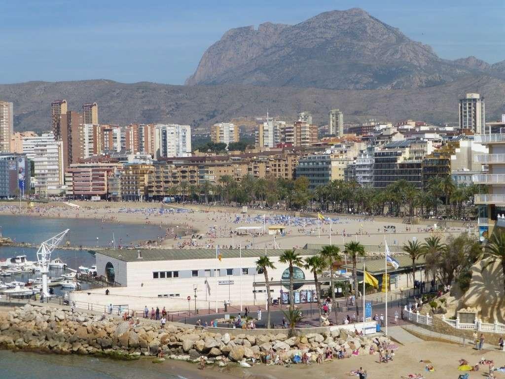 Spain, Costa Blanca, Benidorm, Levente Walk in the Sun 2013 45110