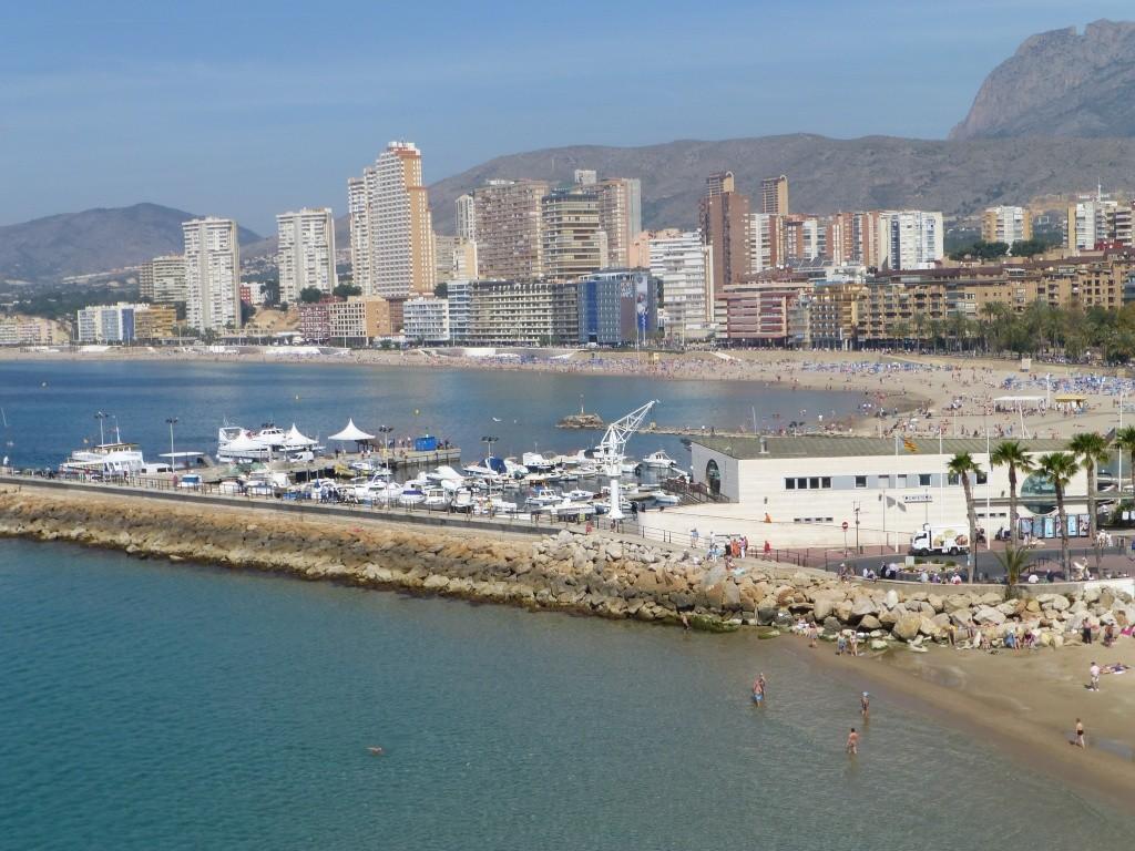 Spain, Costa Blanca, Benidorm, Levente Walk in the Sun 2013 46111