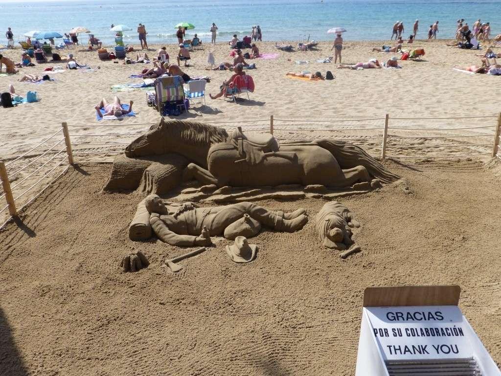 Spain, Costa Blanca, Benidorm, Levente Walk in the Sun 2013 46710