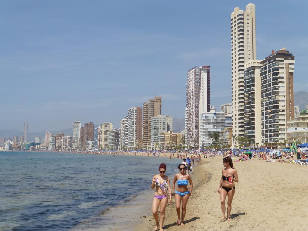 Spain, Costa Blanca, Benidorm, Levente Walk in the Sun 2013 47310