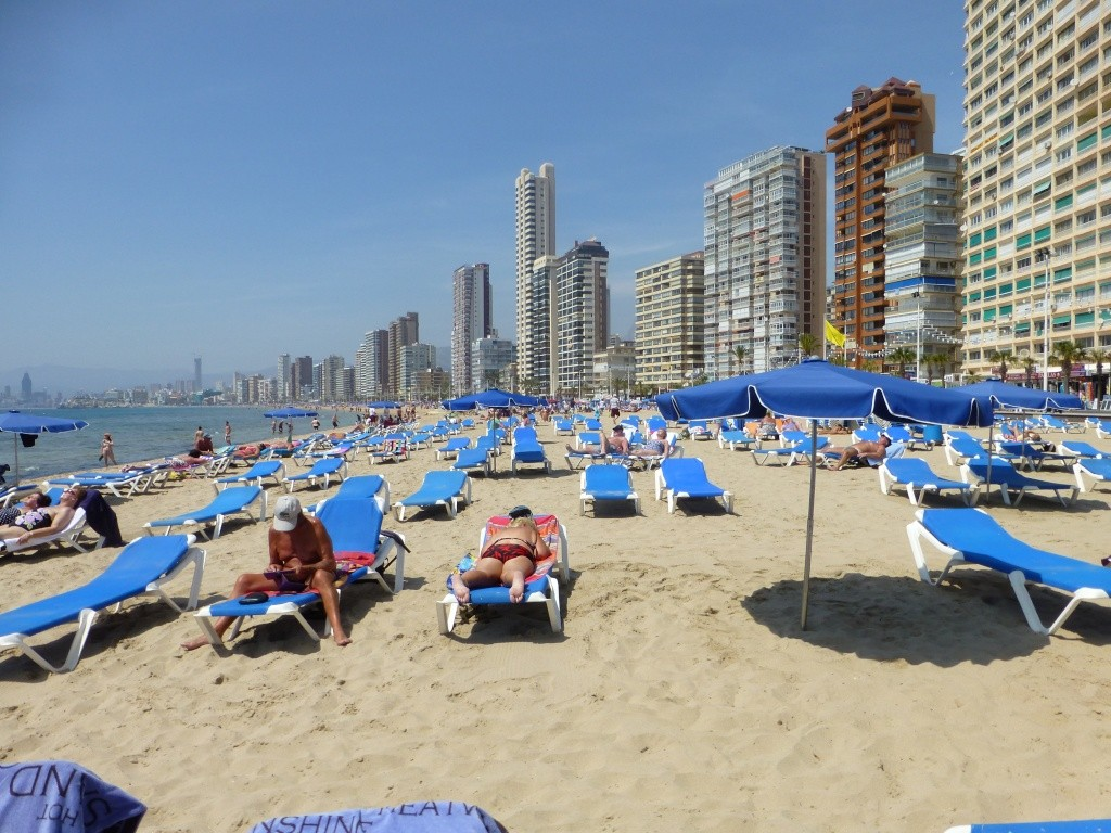 Spain, Costa Blanca, Benidorm, Levente Walk in the Sun 2013 48410