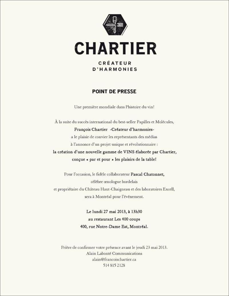 François Chartier quitte La Presse Charti10