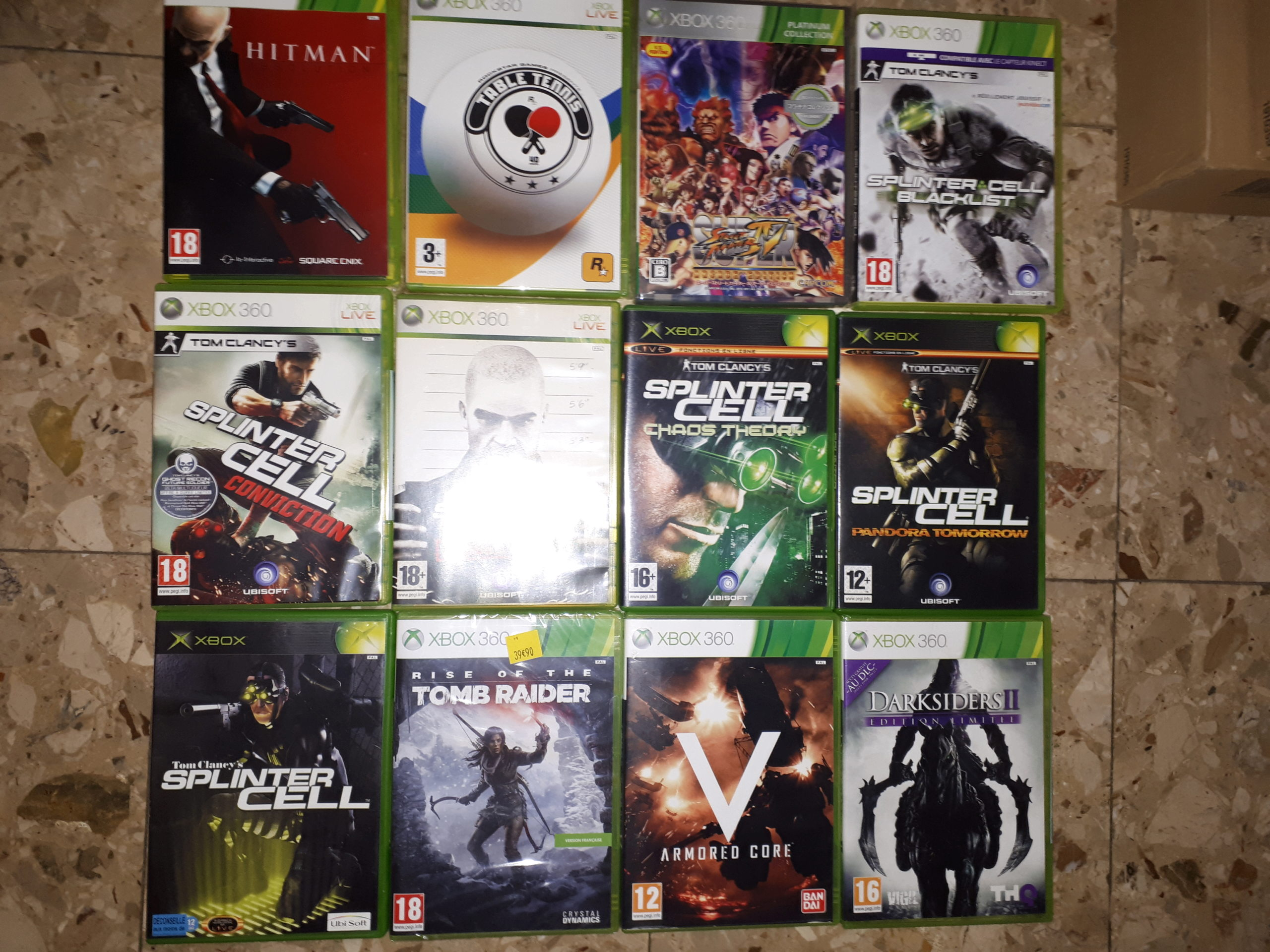[VDS] Lot jeux XBOX / XBOX 360 / XBOX ONE 20190510