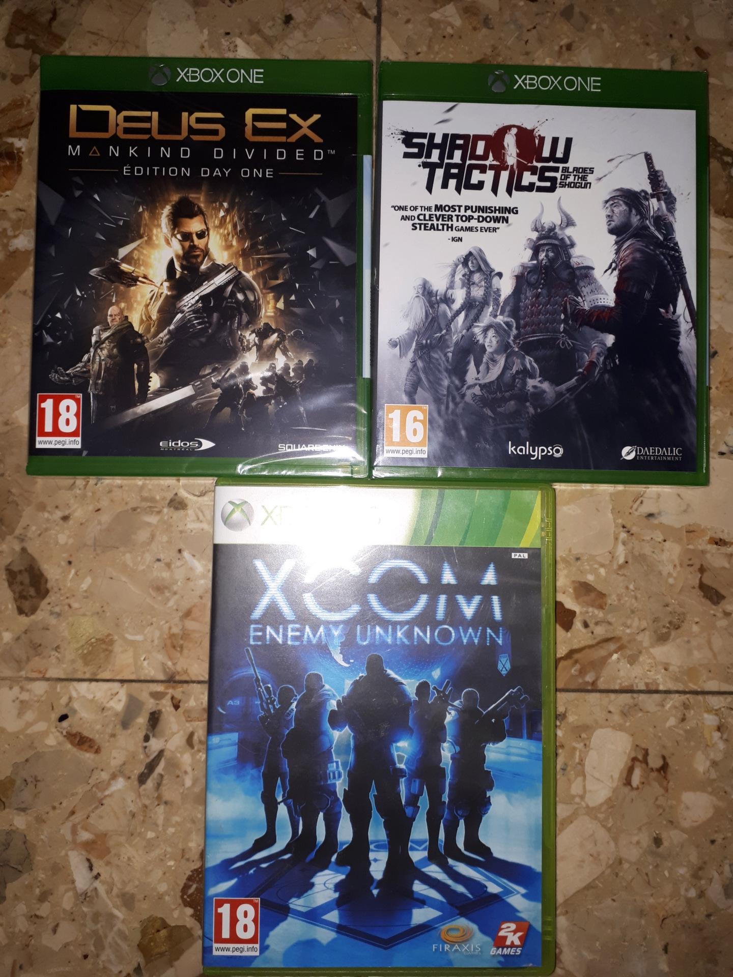 [VDS] Lot jeux XBOX / XBOX 360 / XBOX ONE 20190511