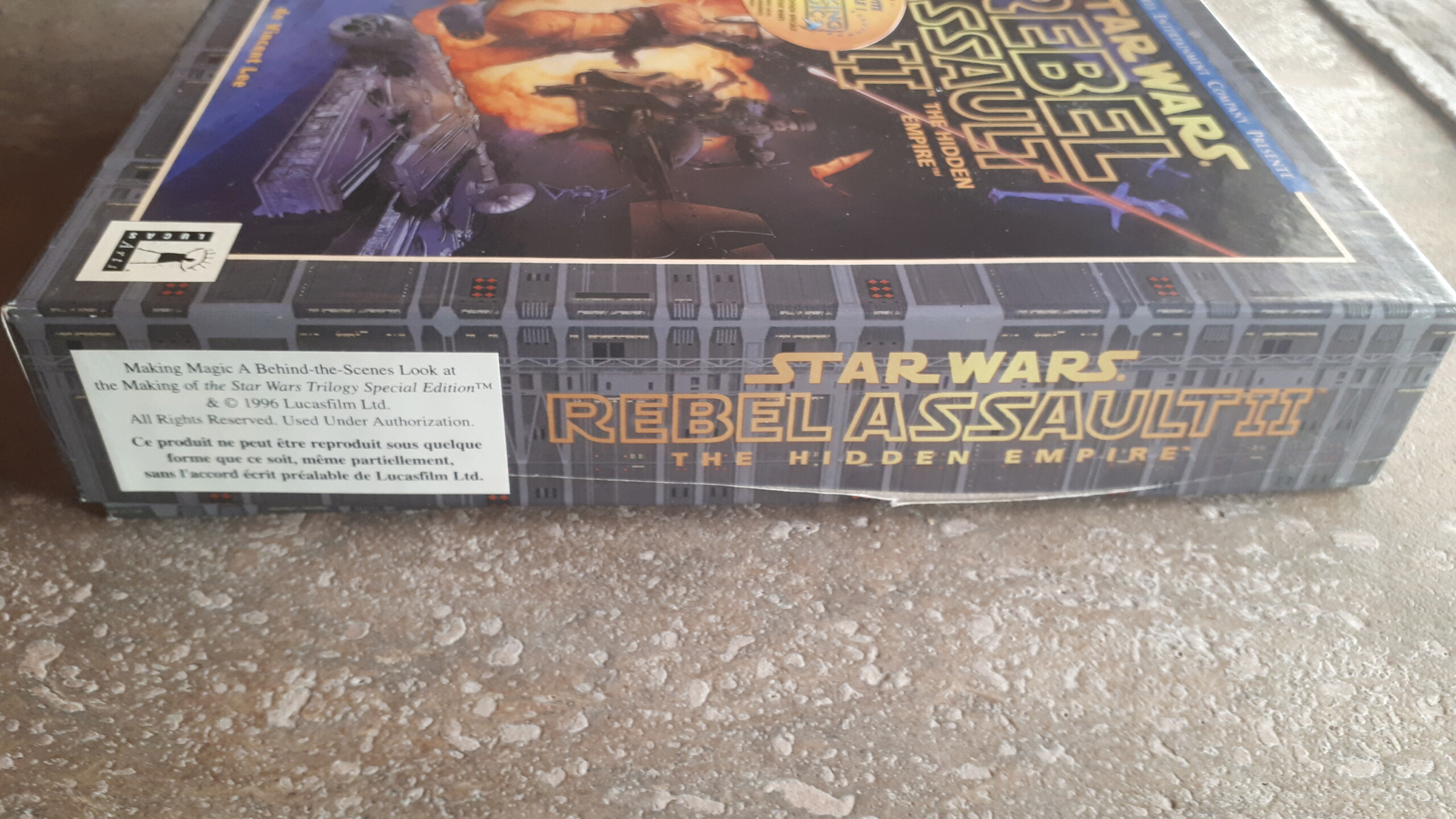 Lot jeuxVF PC Big Box 20210910