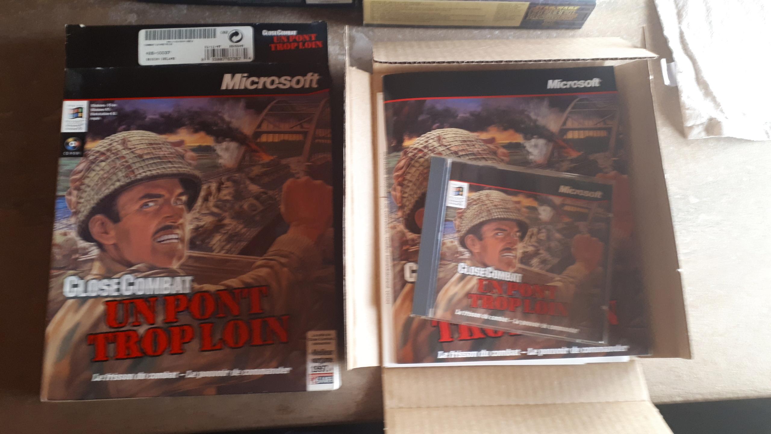 Lot jeuxVF PC Big Box 20210923