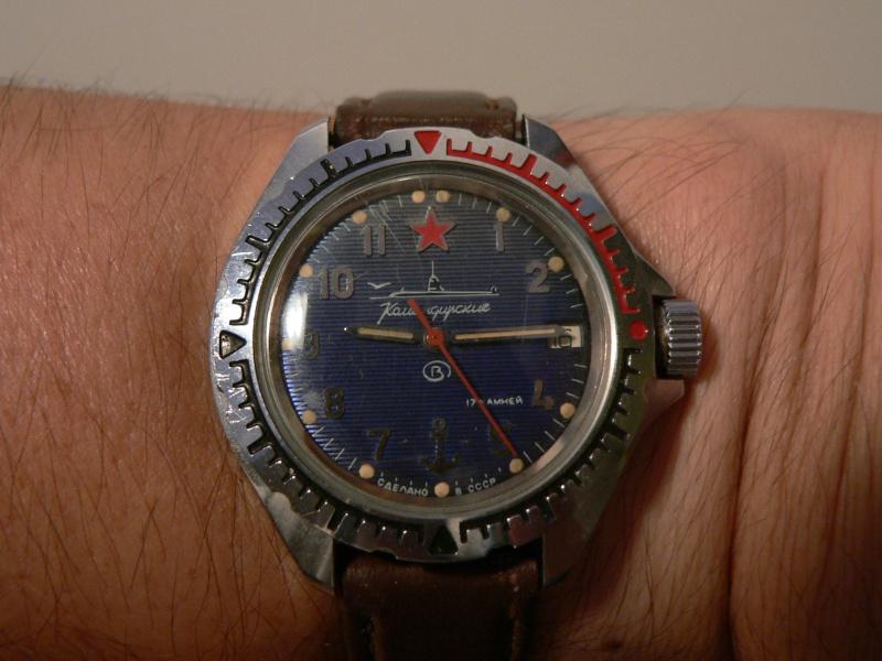 vostok - Il n'y a pas que les suisses ou les japonaises.....un petit feu de Vostok !!! En avant les roturières.. - Page 2 Vostok10