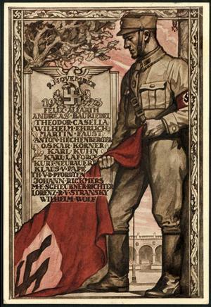 La Sturmabteilung,SA,la section d'assaut de la NSDAP, Blutfa10