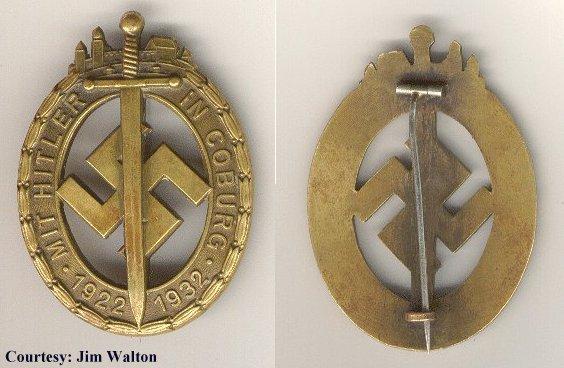La Sturmabteilung,SA,la section d'assaut de la NSDAP, Coburg10