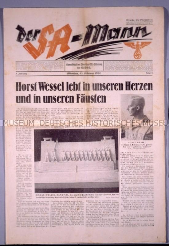 La Sturmabteilung,SA,la section d'assaut de la NSDAP, Der_sa10