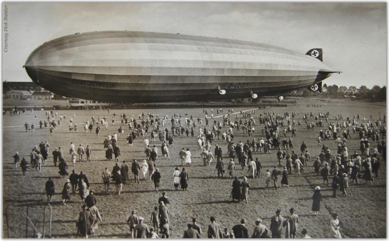 Le Hindenburg LZ 129  Graf-z10