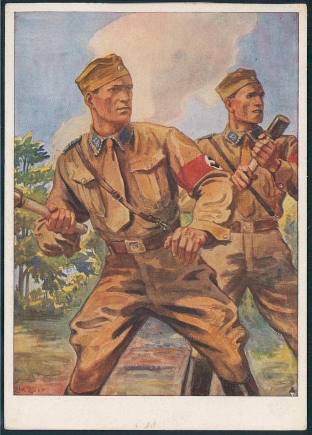 La Sturmabteilung,SA,la section d'assaut de la NSDAP, Propag10