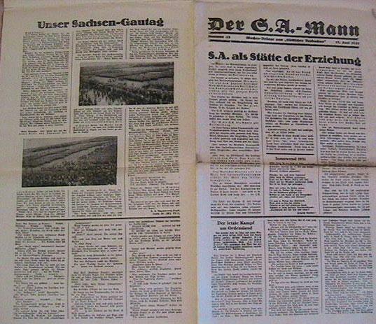 La Sturmabteilung,SA,la section d'assaut de la NSDAP, Vb1010