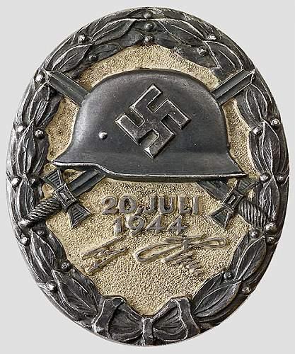 Les médailles de Hitler Verwun10