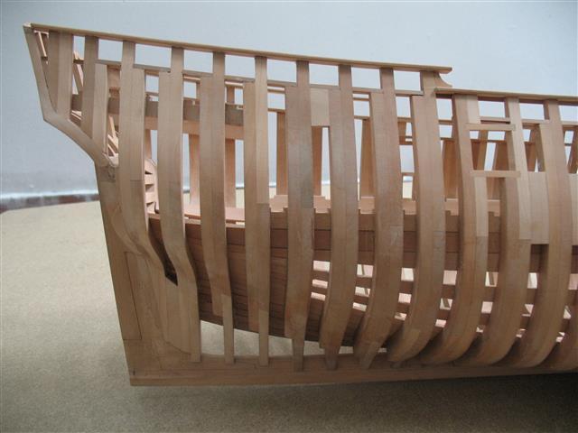 La Belle 1684 scala 1/24  piani ANCRE cantiere di grisuzone  Img_7912