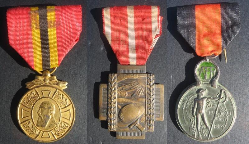 Ma petite collection de Médailles belges WW1 et WW2. Nouvelle arrivée 15/03/2015 Img_4610