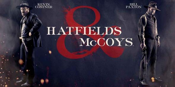 Hatfields and McCoys, série western Hatfie10