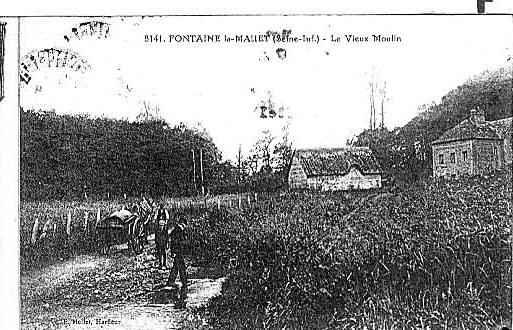 Moulins du XXe siècle à fontaine la mallet  110