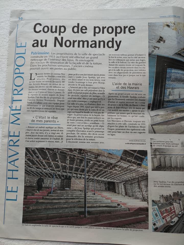 Le cinéma Normandy du nouveau 12985010
