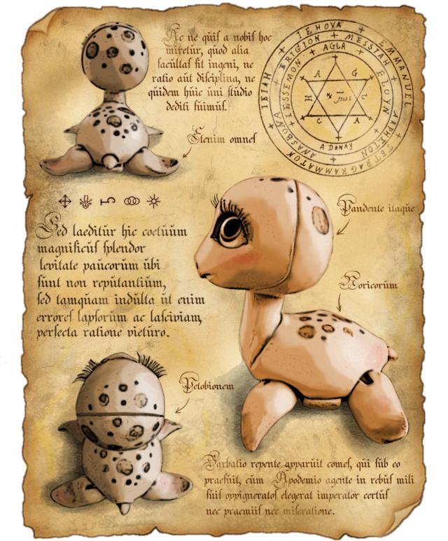 [Chö doll Barnabé] Grimoire page 3 - Page 4 Nessie16