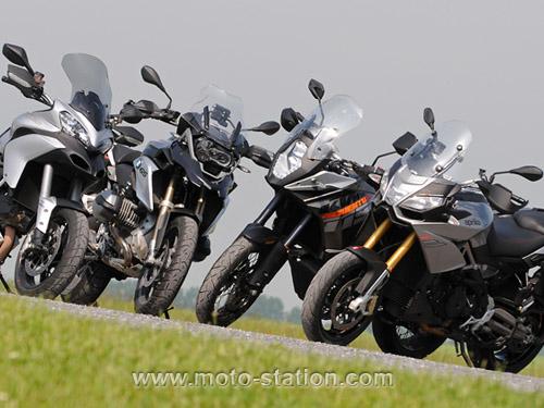 Comparatif motos: Tous les gros trails du moment  Compar14