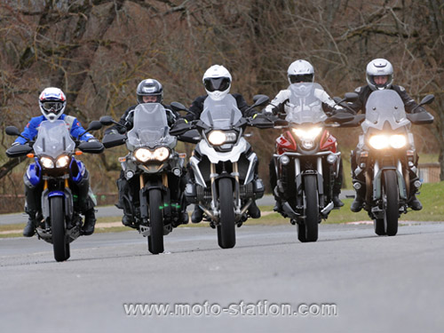 Comparatif motos: Tous les gros trails du moment  Compar15