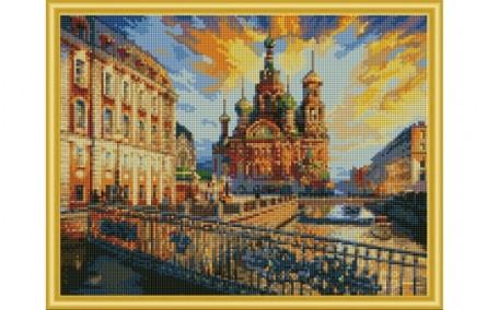 """Алмазная мозаика """"Санкт-Петербург"""" от Рыжего кота 32576310"""