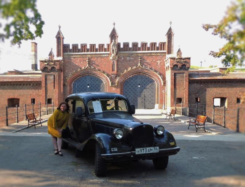 Фридланские ворота в Калининграде Dscn9860