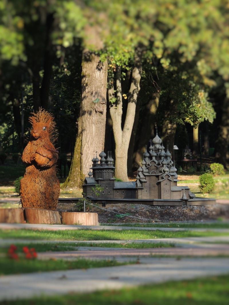 История в архитектуре. Парк миниатюр в Калининграде Dscn9930