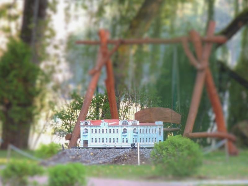 История в архитектуре. Парк миниатюр в Калининграде Dscn9932