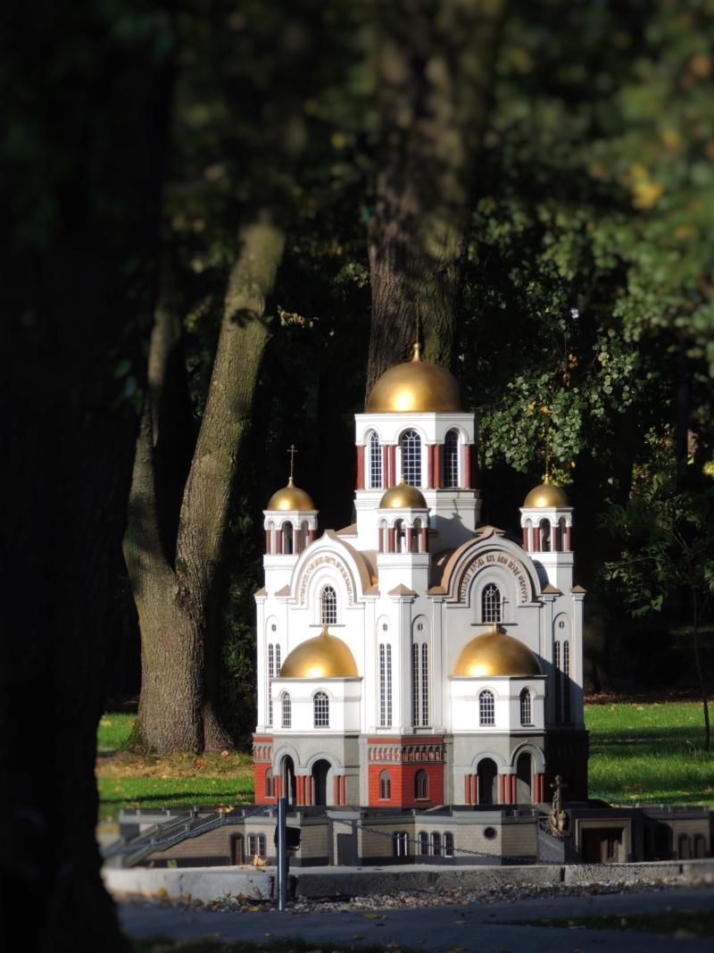 История в архитектуре. Парк миниатюр в Калининграде Dscn9934
