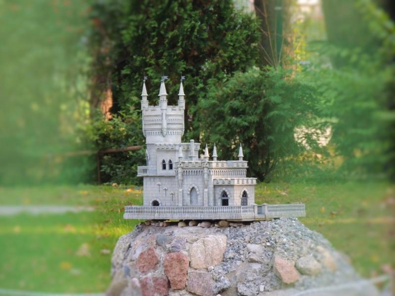 История в архитектуре. Парк миниатюр в Калининграде Dscn9935