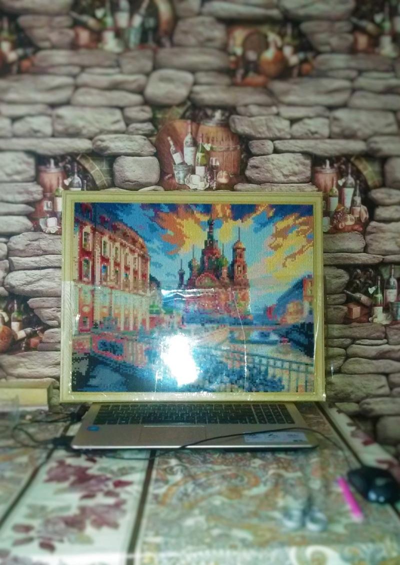 """Алмазная мозаика """"Санкт-Петербург"""" от Рыжего кота Img_2048"""
