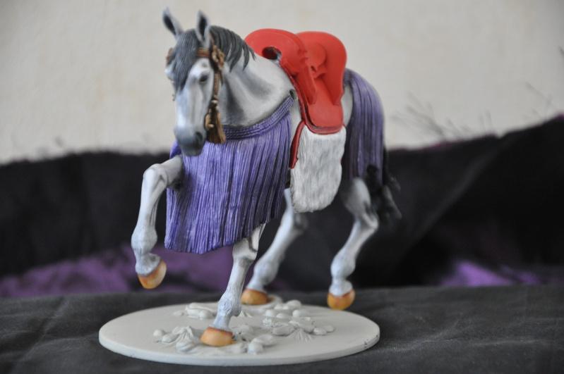 Samourai à cheval période Momoyama. 90 mm Bonapartes/Poste militaire Terminé Dsc_0013
