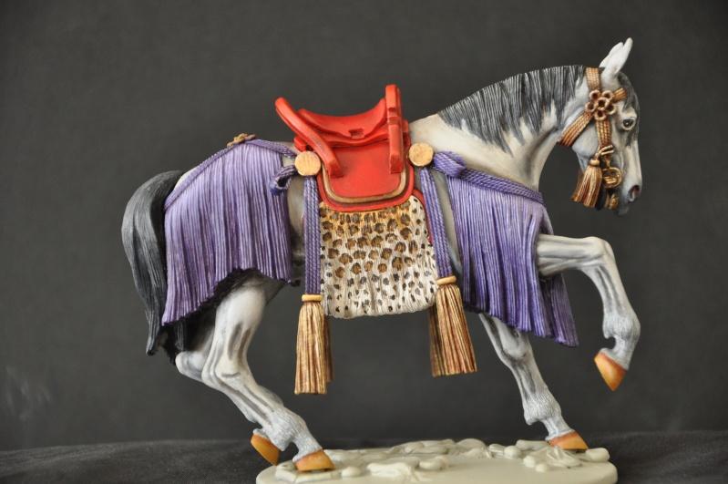 Samourai à cheval période Momoyama. 90 mm Bonapartes/Poste militaire Terminé Dsc_0014