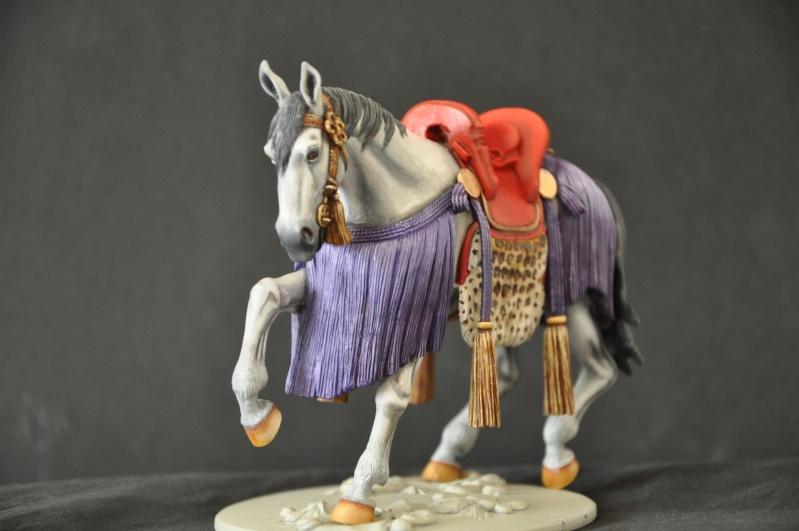 Samourai à cheval période Momoyama. 90 mm Bonapartes/Poste militaire Terminé Dsc_0015