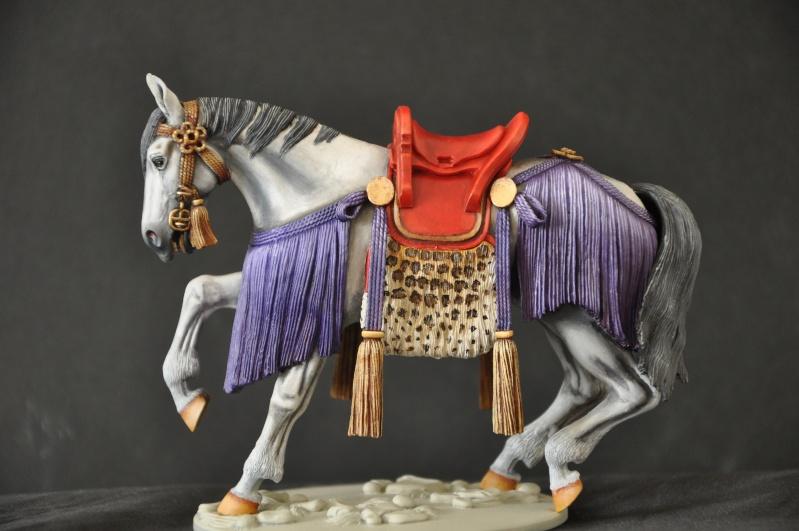 Samourai à cheval période Momoyama. 90 mm Bonapartes/Poste militaire Terminé Dsc_0017