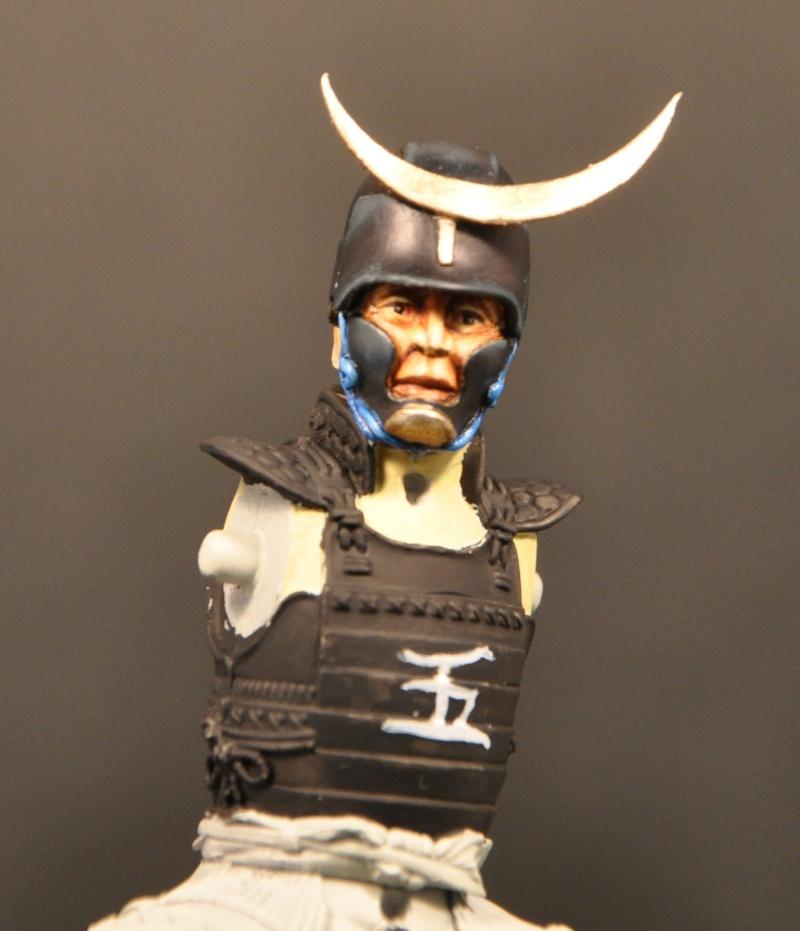 Samourai à cheval période Momoyama. 90 mm Bonapartes/Poste militaire Terminé Dsc_0020